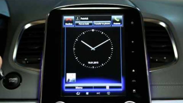 Jak odebrać połączenie telefoniczne podczas jazdy za pomocą interfejsu R-Link 2?