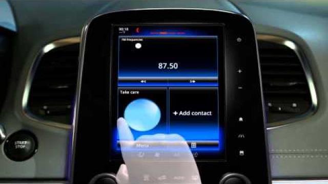 Opis wielofunkcyjnego ekranu dotykowego